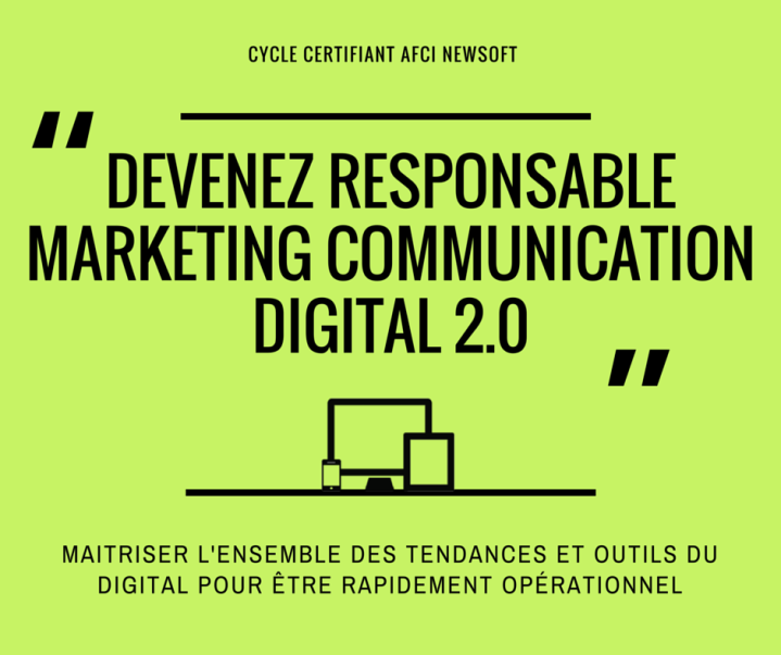 Responsable communication digital